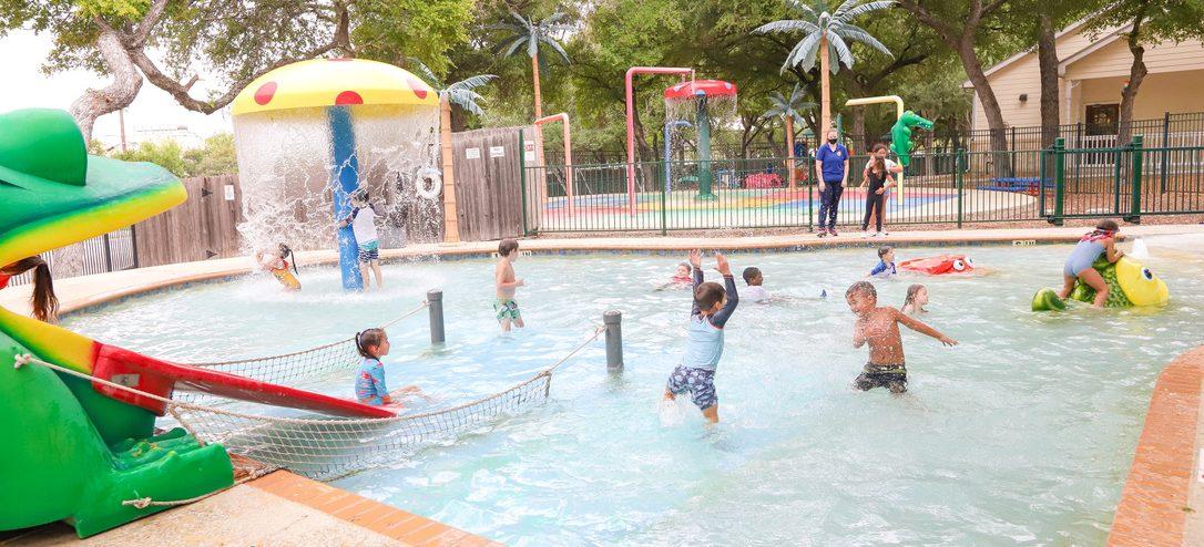 San Antonio and Austin Texas Waterpark & Splash Deck