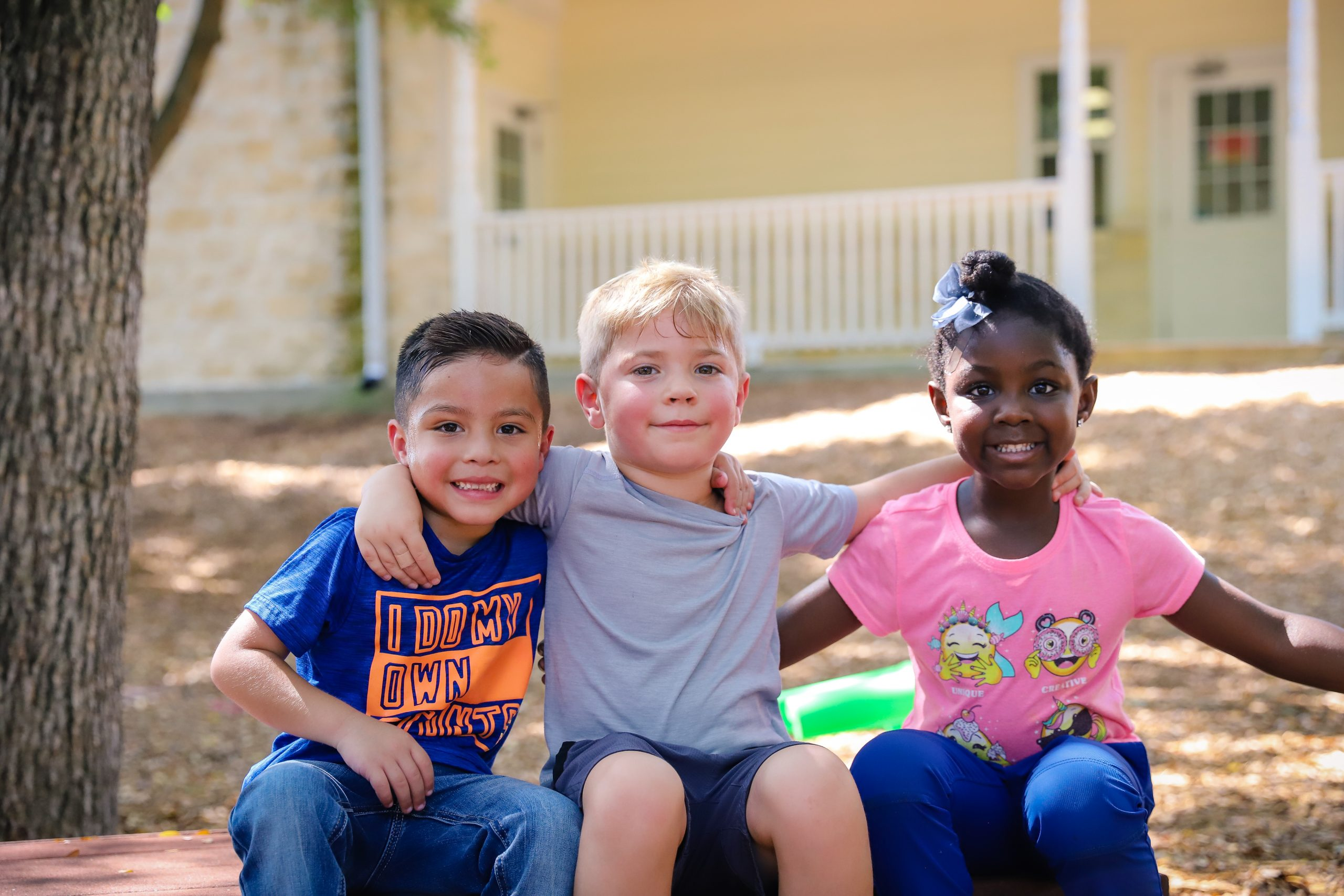 Make new friends at Country Home Learning Center